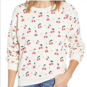 Oh baby Cherry sweatshirt by Wildfox